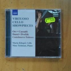MARIA KLIEGEL / NINA TICHMAN - VIRTUOSO CELLO SHOWPIECES - CD