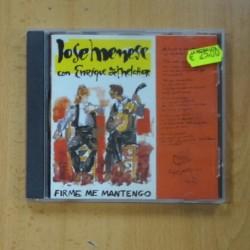 JOSE MENESE / ENRIQUE DE MELCHOR - FIRME ME MANTENGO - CD
