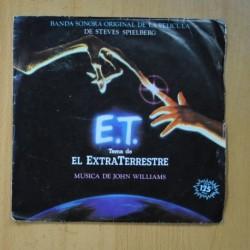 JOHN WILLIAMS - TEMA DE E.T. EL EXTRATERRESTRE / OVER THE MOON - SINGLE