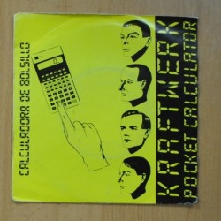 KRAFTWERK - CALCULADORA DE BOLSILLO POCKER CALCULATOR - SINGLE