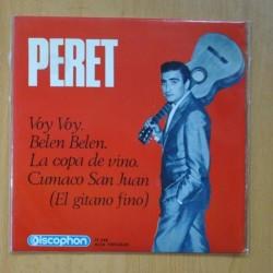 PERET - LA COPA DE VINO + 3 - EP