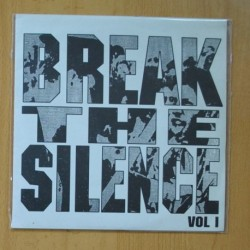 BREAK THE SILENCE VOL 1 - VARIOS - INTESITY - UNK