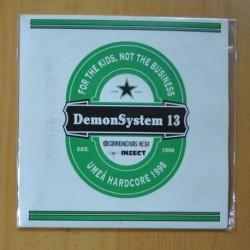 DEMONSYSTEM 13 - MAKE MORE NOISE + 6 - EP