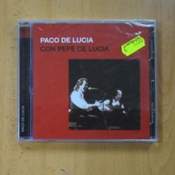 PACO DELUCIA - CON PEPE DE LUCIA - CD