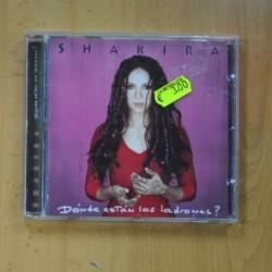 SHAKIRA - DONDE ESTAN LOS LADRONES ? - CD