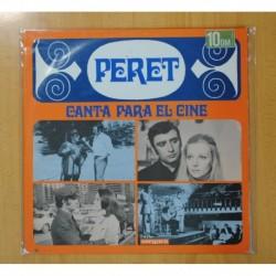 PERET - CANTA PARA EL CINE - LP