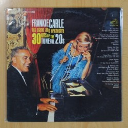FRANKIE CARLE - 30 HITS OF THE TUNEFUL 20S - LP