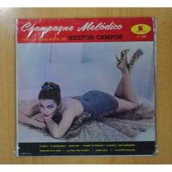 ORQUESTA DE NESTOR CAMPOS - CHAMPAGNE MELODICO - LP