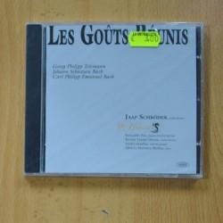 VARIOS - LES GOUTS REUNIS - CD