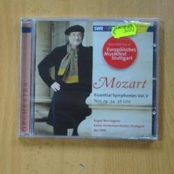 ROGER NORRINGTON - MOZART ESSENTIAL SYMPHONIES VOL V - CD