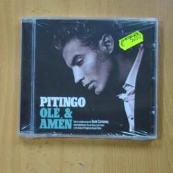 PITINGO - OLE & AMEN - CD