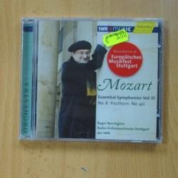 ROGER NORRINGTON - MOZART ESSENTIAL SYMPHONIES VOL III - CD