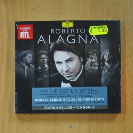 ROBERTO ALAGNA - MA VIE EST UN ÓPERA - CD