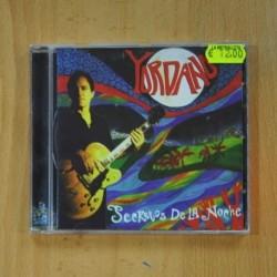 YORDANO - SECRETOS DE LA NOCHE - CD
