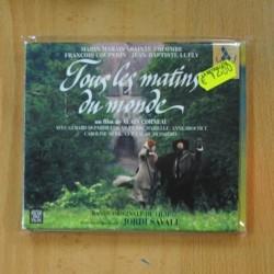 JORDI SAVALL - TOUS LES MATINS DU MONDE - CD