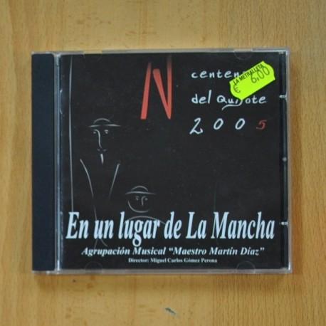 AGRUPACION MUSICAL MAESTRO MARTIN DIAZ - EN UN LUGAR DE LA MACHA - CD