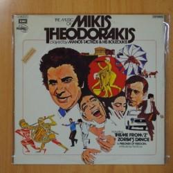 MANOS TACTICOS & HIS BOUZOUKIS - THE MUSIC OF MIKIS THEODORAKIS - LP