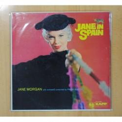 JANE MORGAN - JANE IN SPAIN - LP