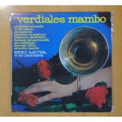 TITO MOYA Y SU ORQUESTA - VERDIALES MAMBO - LP