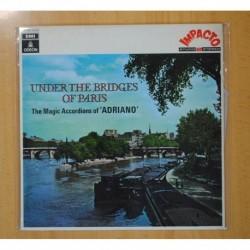 ADRIANO - UNDER THE BRIDGES OF PARIS - LP