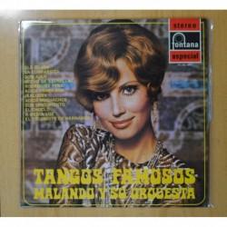 MALANDO Y SU ORQUESTA TANGOS FAMOSOS - LP