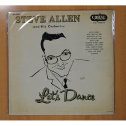 STEVE ALLEN AND HIS ORCHESTRA - LET´S DANCE - LP