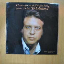 JUAN PEÑA EL LEBRIJANO - FLAMENCO EN EL TEATRO REAL - LP