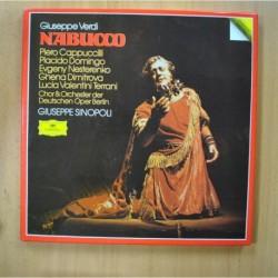 GIUSEPPE VERDI - NABUCCO - BOX 3 LP