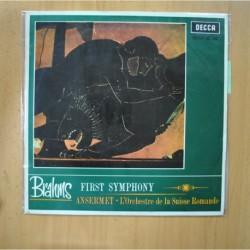 BRAHMS - FIRST SYMPHONY - LP