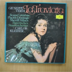 GIUSEPPE VERDI - LA TRAVIATA - BOX 2 LP