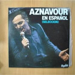 CHARLES AZNAVOUR - EN ESPAÑOL - 2 LP