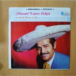 MANUEL LOPEZ OCHOA - CORRIDO DE CHUCHO EL ROTO - LP
