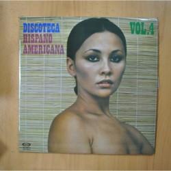 VARIOS - DISCOTECA HISPANO AMERICANA VOL 4 - LP