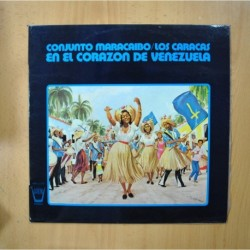 CONJUNTO MARACAIBO / LOS CARACAS - EN EL CORAZON DE VENEZUELA - LP