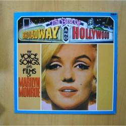 MARILYN MONROE - THE VOICE SONGS AND FILMS OF MARILYN MONROE - LP