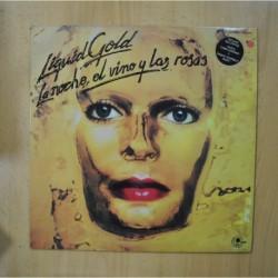 LIQUID GOLD - LA NOCHE EL VINO Y LAS ROSAS - LP