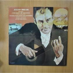 JULIAN BREAM / RODRIGO / BERKELEY - CONCIERTO ARANJUEZ / CONCIERTO GUITARRA - LP