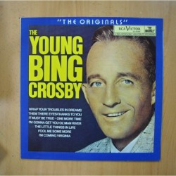 BING CROSBY - THE YOUNG BING CROSBY - LP