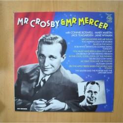 BING CROSBY - MR. CROSBY & MR. MERCER - LP