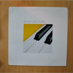 RANDY WALDMAN - PIANO KEYBOARDS SYNTHESIZERS - LP