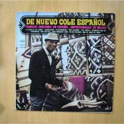 NAT KING COLE - DE NUEVO COLE ESPAÑOL - LP