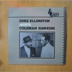 DUKE ELLINGTON - MEETS COLEMAN HAWKINS - LP