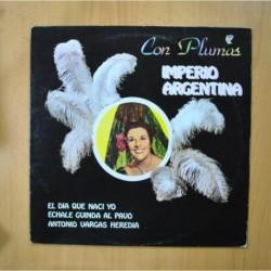 IMPERIO ARGENTINA - CON PLUMAS - LP