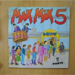 VARIOS - MAX MIX 5 1 PARTE - GATEFOLD - 2 LP
