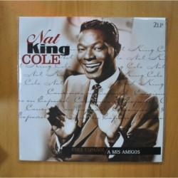 NAT KING COLE - A MIS AMIGOS - GATEFOLD - 2 LP
