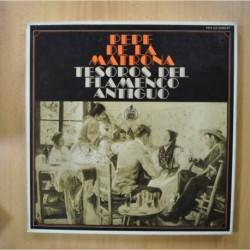 PEPE DE LA MATRONA - TESOROS DEL FLAMENCO ANTIGUO - INCLUYE LIBRETO - BOX 2 LP