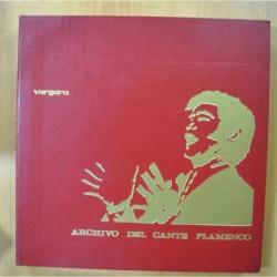 VARIOS - ARCHIVO DEL CANTE FLAMENCO - INCLUYE LIBRETO - BOX 6 LP