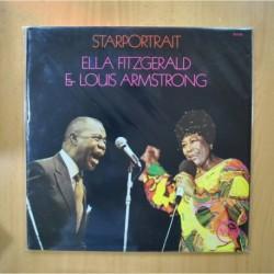 ELLA FITZGERALD / LOUIS ARMSTRONG - STARPORTRAIT - GATEFOLD - 2 LP