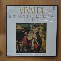 VIVALDI - LOS DOCE CONCIERTOS OP. 11 Y 12 - BOX LP
