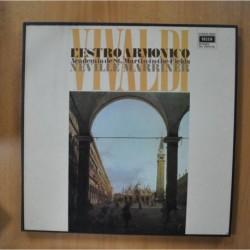 VIVALDI / NEVILLE MARRINER - L´ESTRO ARMONICO - BOX 2 LP